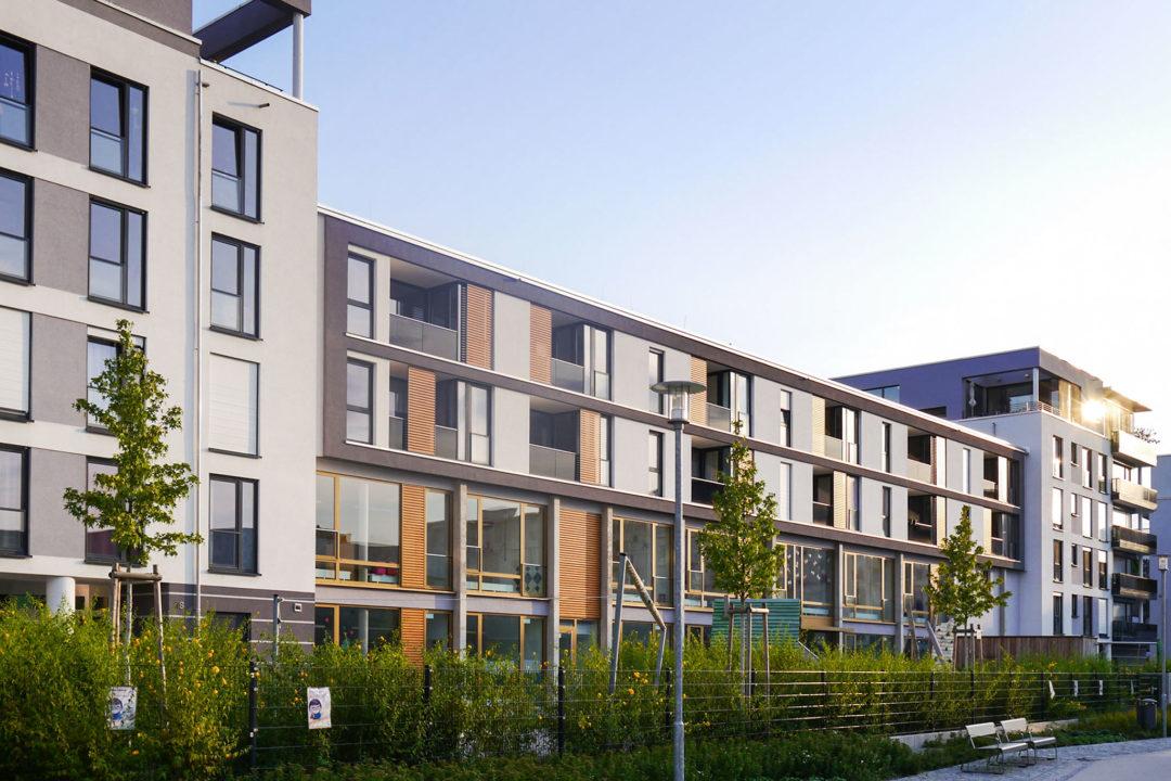 Mehrfamilienhaus Klara-Siebert-Straße im CityPark Karlsruhe