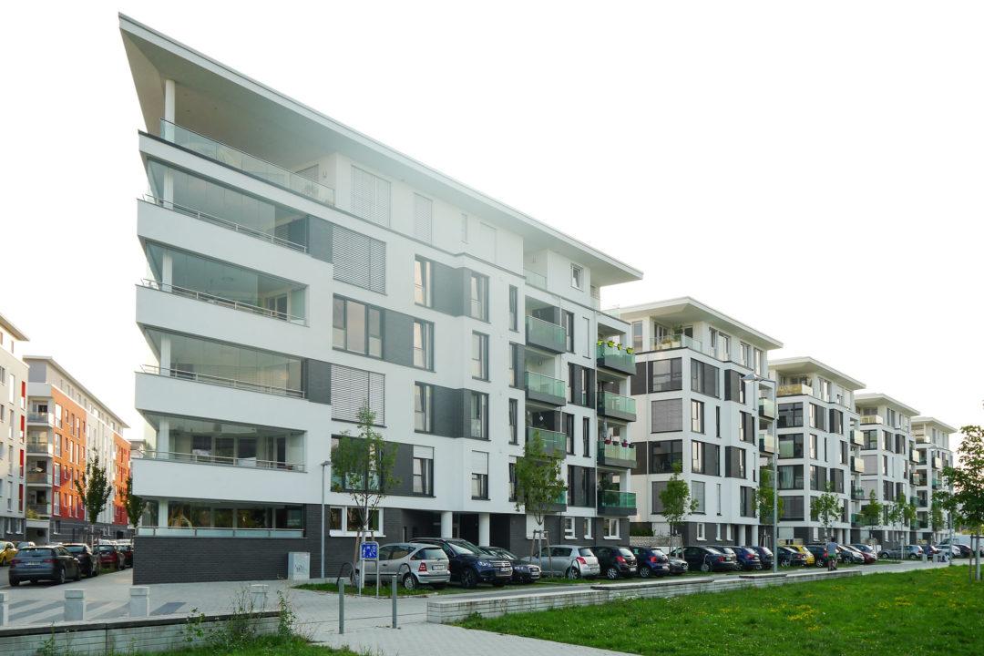 Mehrfamilienhaus Marie-Juchacz-Straße im CityPark Karlsruhe