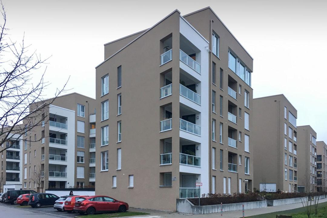 Mehrfamilienhaus Luisenstraße im CityPark Karlsruhe